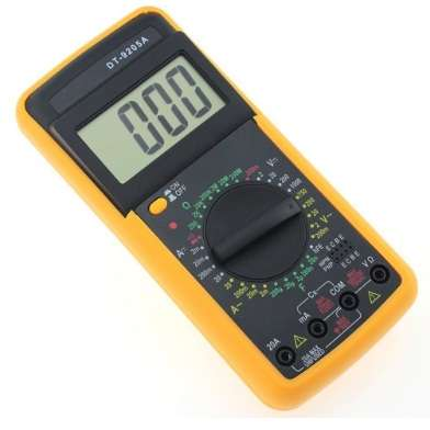 multimeter  dt9205m