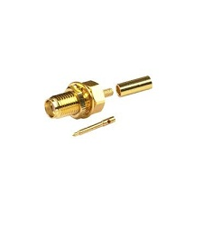 sma connector female rg174