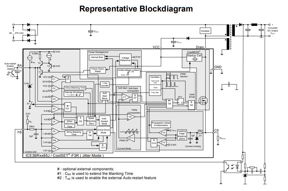 ساختار داخلی آی سی 3BR4765J
