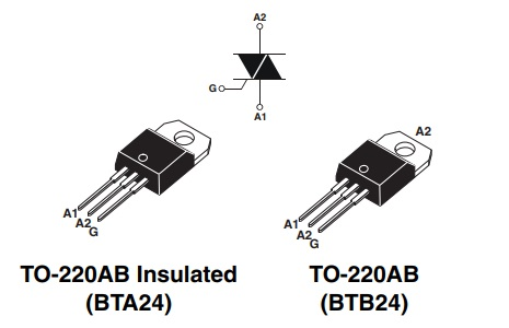 ترایاک BTB24-600